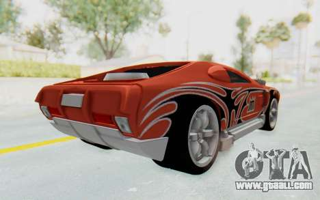 Hot Wheels AcceleRacers 2 for GTA San Andreas back left view