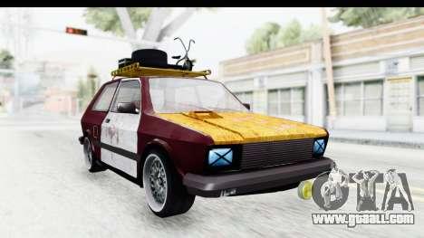 Zastava Yugo Koral Rat Style for GTA San Andreas