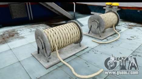 GTA 5 Buckingham Tug Boat v1 IVF for GTA San Andreas inner view