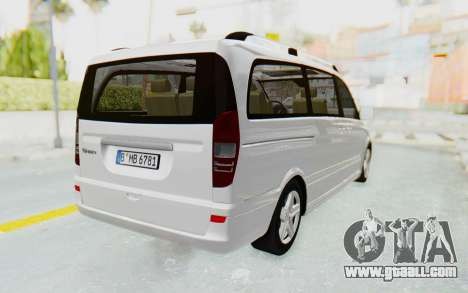 Mercedes-Benz Viano W639 2010 Long Version for GTA San Andreas right view