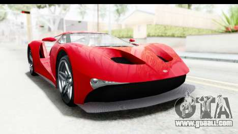 GTA 5 Vapid FMJ IVF for GTA San Andreas right view