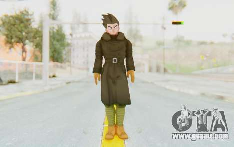 Dragon Ball Xenoverse Goten Time Patrol for GTA San Andreas second screenshot
