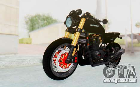 Kawasaki Z1000 Moghe Cafe Racer for GTA San Andreas right view