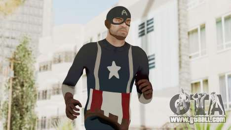 Trevor in Captain America Suit for GTA San Andreas
