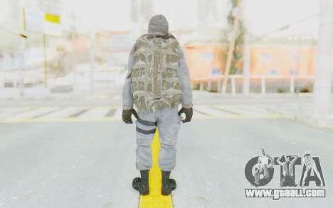COD BO Grigori Weaver Winter for GTA San Andreas third screenshot