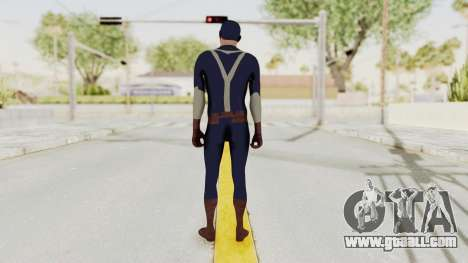 Trevor in Captain America Suit for GTA San Andreas third screenshot