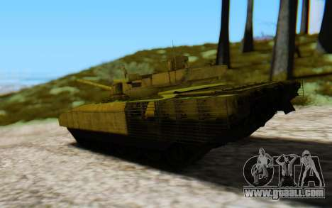T-14 Armata Green for GTA San Andreas left view