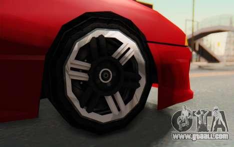 Elegy GT v1 for GTA San Andreas inner view