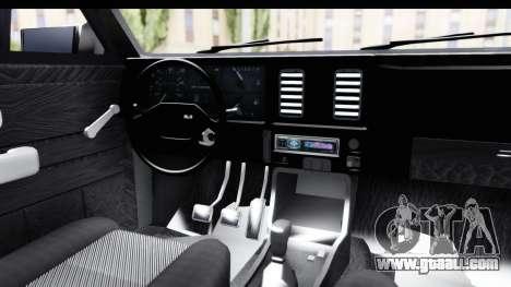 Chevrolet Chevette SL for GTA San Andreas inner view