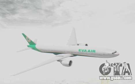 Boeing 777-300ER Eva Air v3 for GTA San Andreas