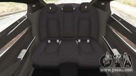 GTA 5 Maserati Quattroporte 2013 steering wheel