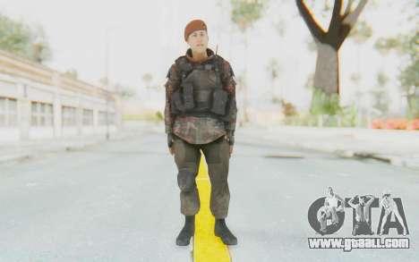 COD MW2 Russian Paratrooper v4 for GTA San Andreas second screenshot