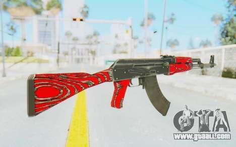 CS:GO - AK-47 Laminate Red for GTA San Andreas second screenshot
