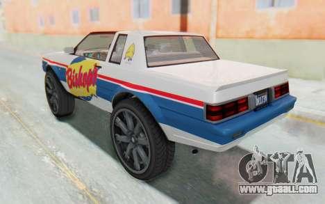 GTA 5 Willard Faction Custom Donk v1 for GTA San Andreas interior