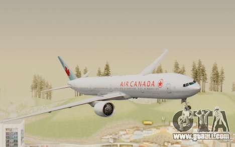 Boeing 777-300ER Air Canada for GTA San Andreas