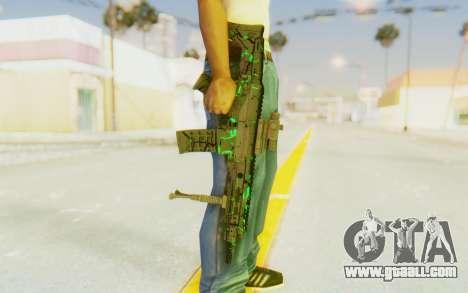 ACR CQB Magma Green for GTA San Andreas