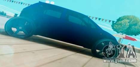 Daewoo Matiz R20 Vossen for GTA San Andreas left view