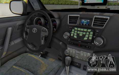 Toyota Fortuner 4WD 2015 Paraguay Police for GTA San Andreas inner view