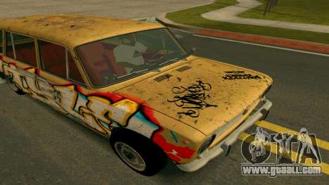 BK VAZ 2102 v1.0 Drift for GTA San Andreas inner view