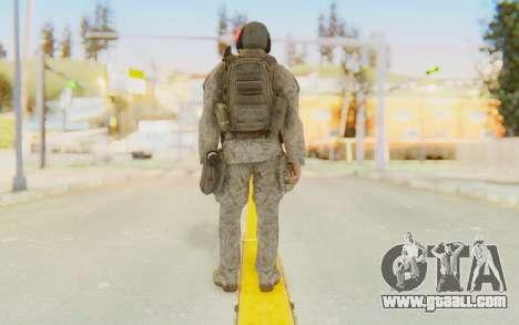 CoD MW2 Ghost Model v5 for GTA San Andreas third screenshot