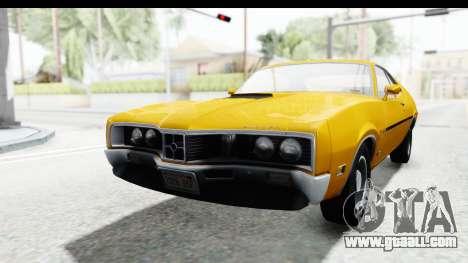 Mercury Cyclone Spoiler 1970 IVF for GTA San Andreas