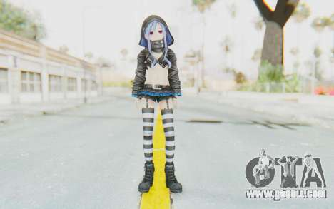 Fairy FencerF - Effole (Redone) for GTA San Andreas second screenshot
