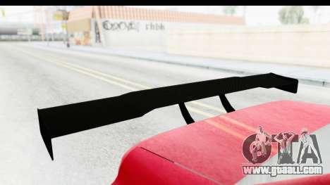 Elegy KraZ Edition Beta 0.8.5 for GTA San Andreas back view