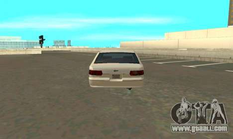 Caprice styled Premier for GTA San Andreas back left view