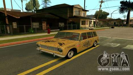 BK VAZ 2102 v1.0 Drift for GTA San Andreas back left view