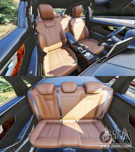 GTA 5 Audi A4 2017 v1.1 steering wheel