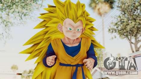 Dragon Ball Xenoverse Goten SSJ3 for GTA San Andreas