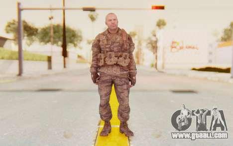COD BO Hudson Vietnam for GTA San Andreas second screenshot