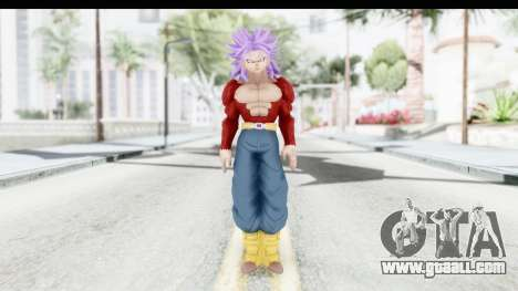 Dragon Ball Xenoverse Future Trunks SSJ4 for GTA San Andreas second screenshot