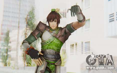 Dynasty Warriors 8 - Guan Su for GTA San Andreas