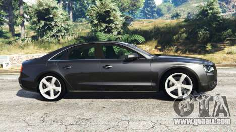 GTA 5 Audi A8 FSI 2010 left side view