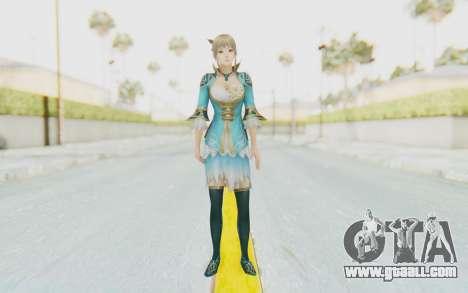 Dynasty Warriors 8 - Wang Yuanji for GTA San Andreas second screenshot