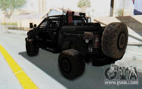 Toyota Hilux Technical Vindicator SecFor for GTA San Andreas left view