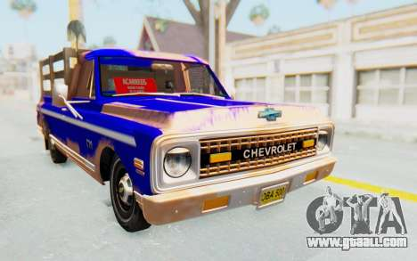 Chevrolet C10 1970 for GTA San Andreas right view