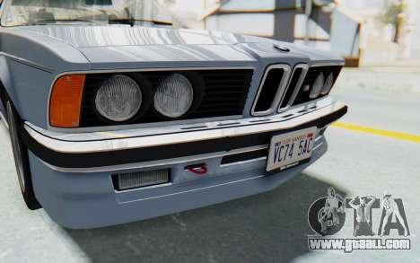 BMW M635 CSi (E24) 1984 IVF PJ1 for GTA San Andreas side view