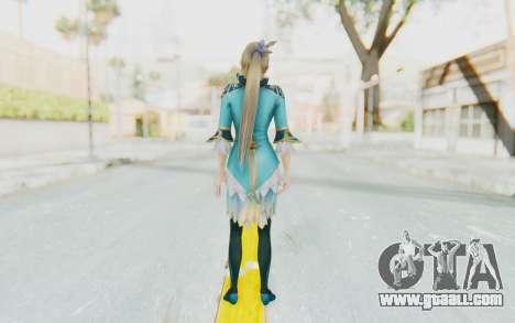 Dynasty Warriors 8 - Wang Yuanji for GTA San Andreas third screenshot