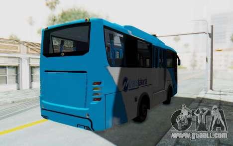 Hino Evo-C Transjakarta Feeder Bus for GTA San Andreas back left view