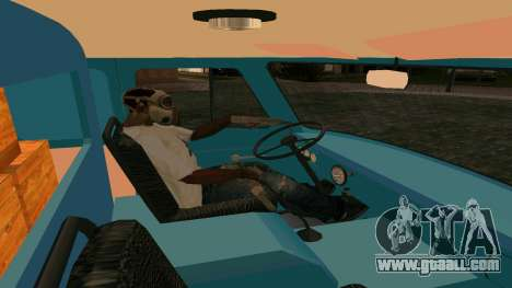 UAZ-452 for GTA San Andreas inner view