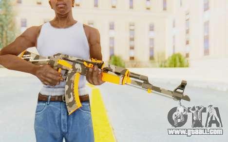 CS:GO - AK-47 Vanquish for GTA San Andreas