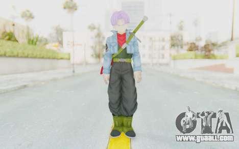 Trunks Del Futuro v2 for GTA San Andreas second screenshot
