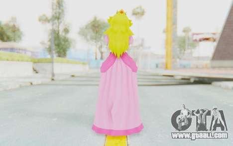 Princess Peach for GTA San Andreas third screenshot