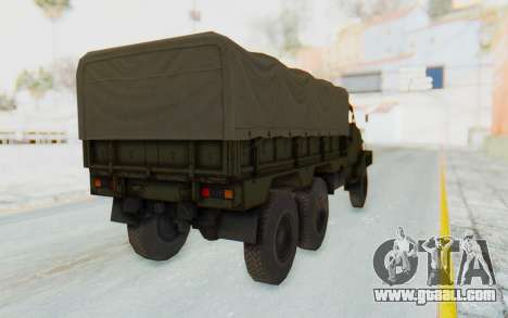 MGSV Phantom Pain BOAR 53CT Truck Roof for GTA San Andreas right view