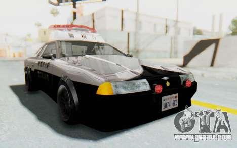 Elegy Japanese Police for GTA San Andreas