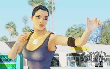 Mortal Kombat X - Jacqui Briggs for GTA San Andreas