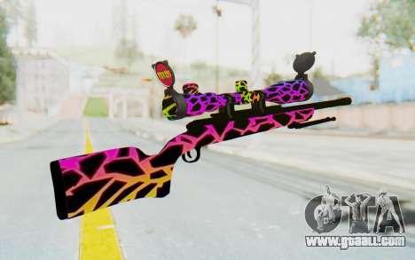 Sniper for GTA San Andreas second screenshot