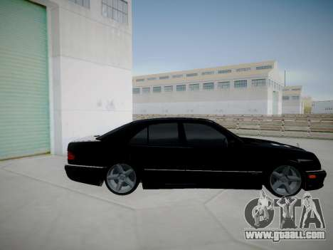 Mercedes-Benz E55 W210 for GTA San Andreas left view
